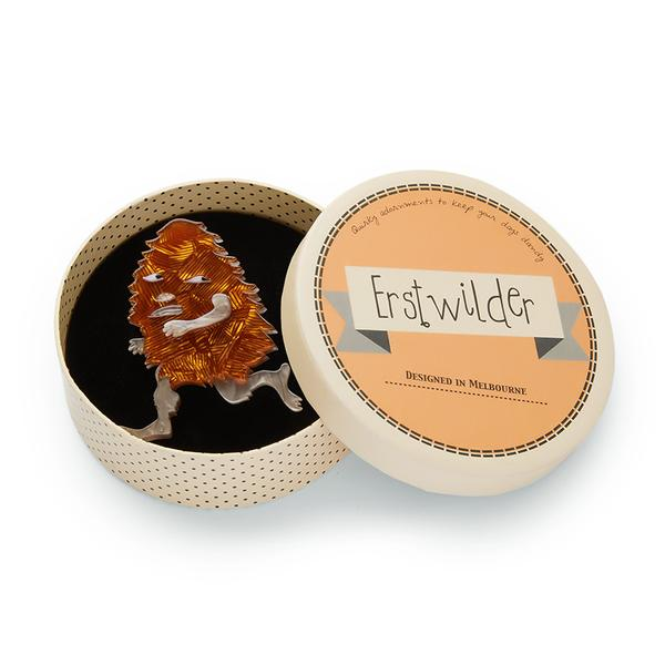 Erstwilder x May Gibbs Banksia Man Brooch box