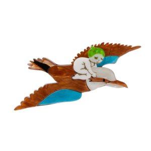 Erstwilder x May Gibbs Mr Kookaburra Brooch