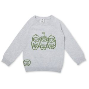 May Gibbs x Walnut Melbourne Cuddle Knit Jumper Bush Baby Grey