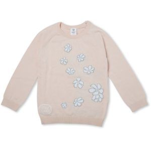 May Gibbs x Walnut Melbourne Cuddle Knit Jumper Tea Tree Flora front