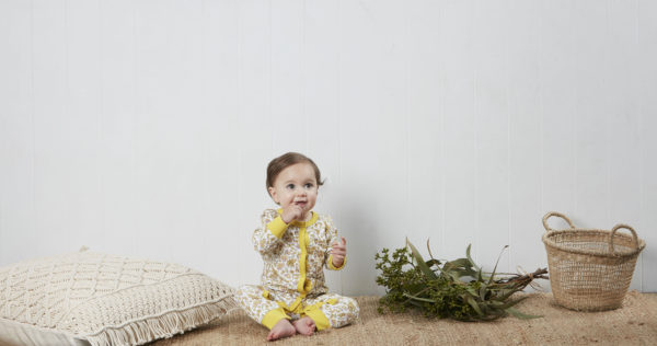 MG Sam Winter Jumpsuit Wattle Baby lifestyle