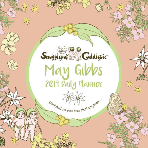 May GIbbs Gumnut Babies front 2019 Daily Wall Planner