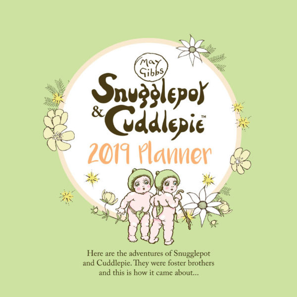 May GIbbs Snugglepot & Cuddlepie 2019 Daily Wall Planner front