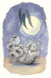 Koalas laughing from Goodnight Gumnuts