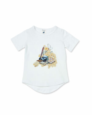 May Gibbs x Walnut Melbourne Frankie Tee Wattle Wren