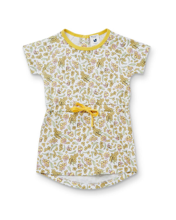 May Gibbs x Walnut Melbourne Holly Dress Wattle Baby