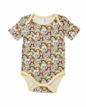 May Gibbs x Walnut Melbourne Wren Onesie Baby Face
