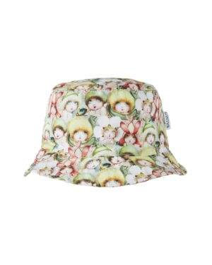 May Gibbs x Walnut Melbourne Mini Sunny Sunhat Baby Face