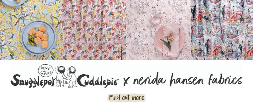May Gibbs x Nerida Hansen Fabrics