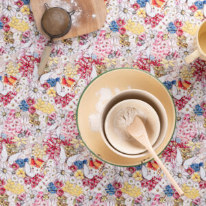 May Gibbs x Nerida Hansen Fabrics - May's Garden Pink