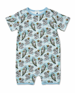 May Gibbs x Walnut Melbourne River Onesie Surf's Up