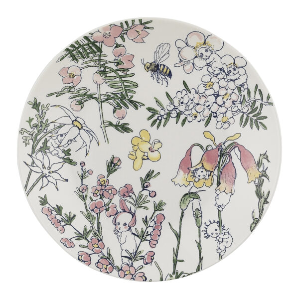 May Gibbs by Ecology Side Plate Flower Babies