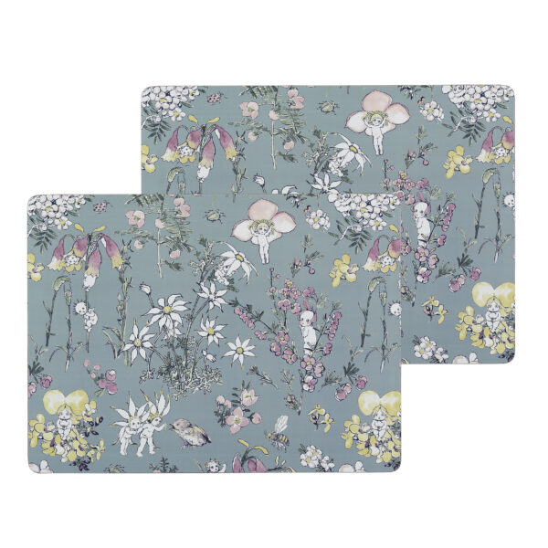 May Gibbs by Ecology Large Placemats Flower Babies