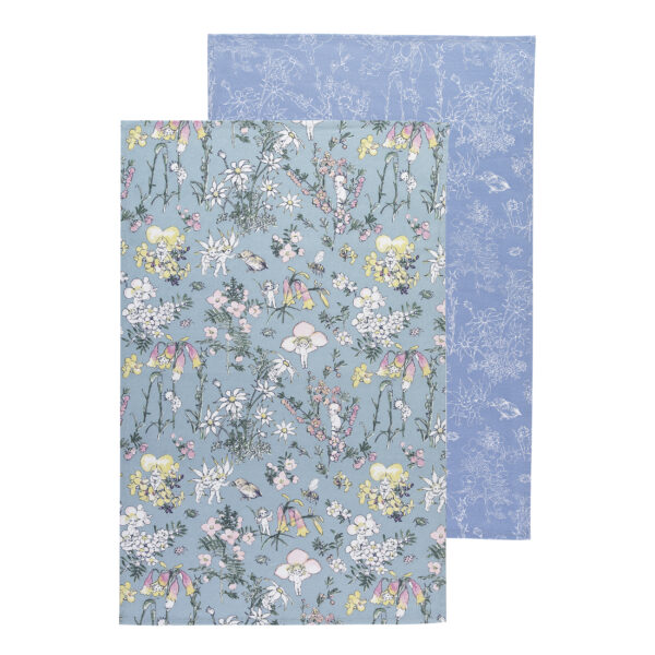 May Gibbs by Ecology Tea Towels Flower Babies Set of 2