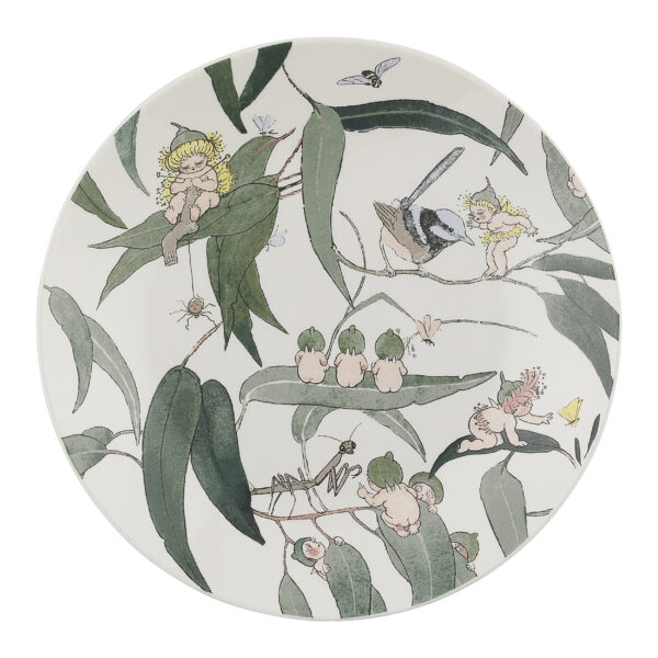May Gibbs by Ecology Side Plate Gumnut Babies