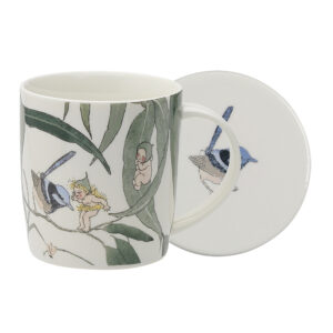 May Gibbs by Ecology Mug & Coaster Set Gumnut Babies