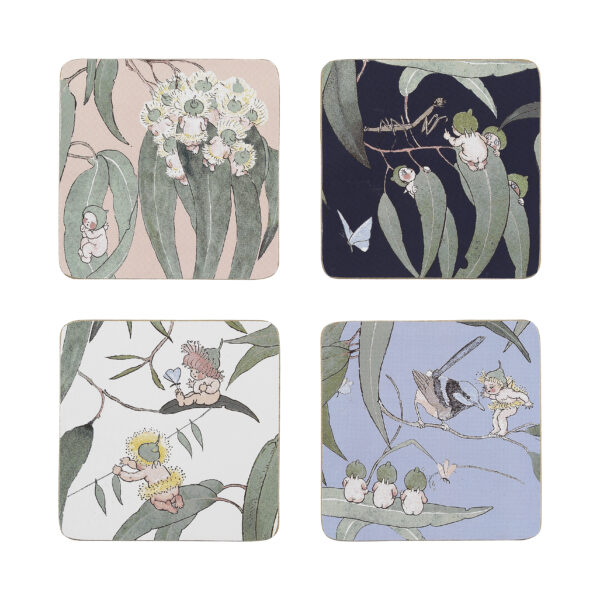 May Gibbs by Ecology Coasters Gumnut Babies