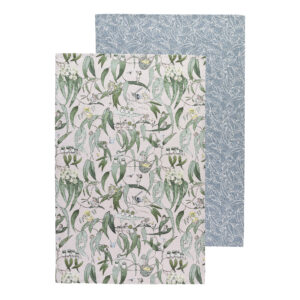 May Gibbs by Ecology Tea Towels Gumnut Babies Set of 2
