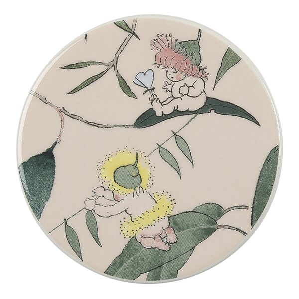 May Gibbs By Ecology Ceramic Coasters Pink