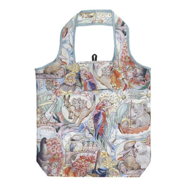 May Gibbs By Ecology Foldable Shopping Bag Bush Tales