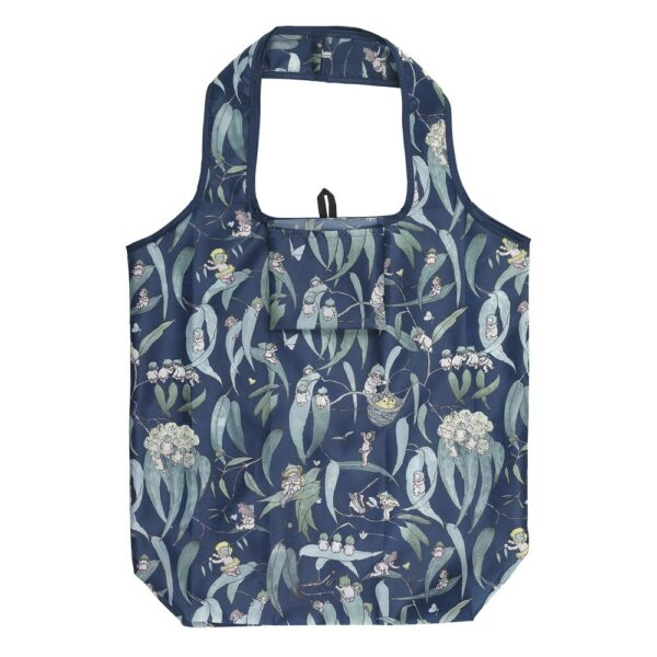May Gibbs By Ecology Foldable Shopping Bag Ink