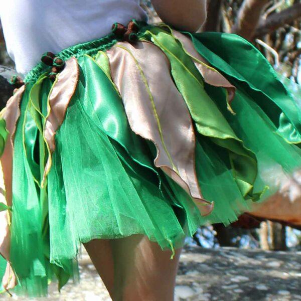 May Gibbs Dress Ups Gum Blossom Green