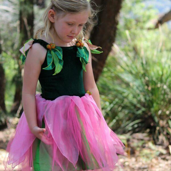 May Gibbs Dress Up Little Ragged Blossom Dress