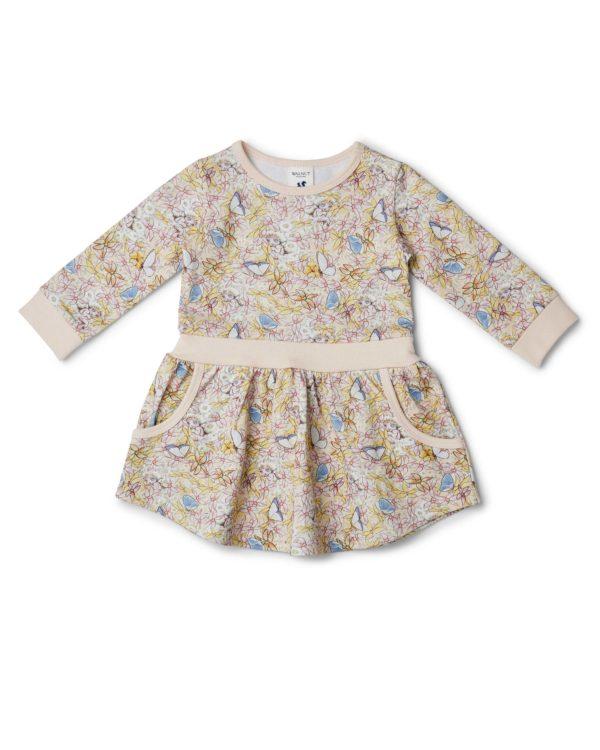 May Gibbs x Walnut Melbourne Lani Dress Gum Blossom