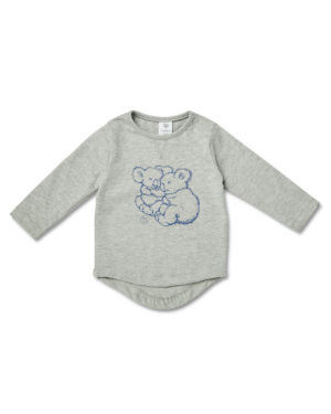 May Gibbs x Walnut Melbourne Leo Long Sleeve Tee Koala Cuddles