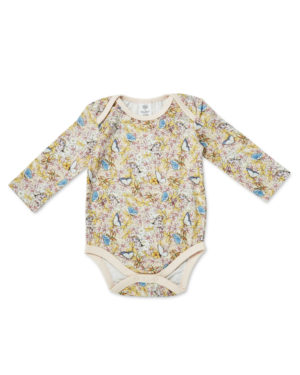 May Gibbs x Walnut Melbourne Winter Onesie Gum Blossom