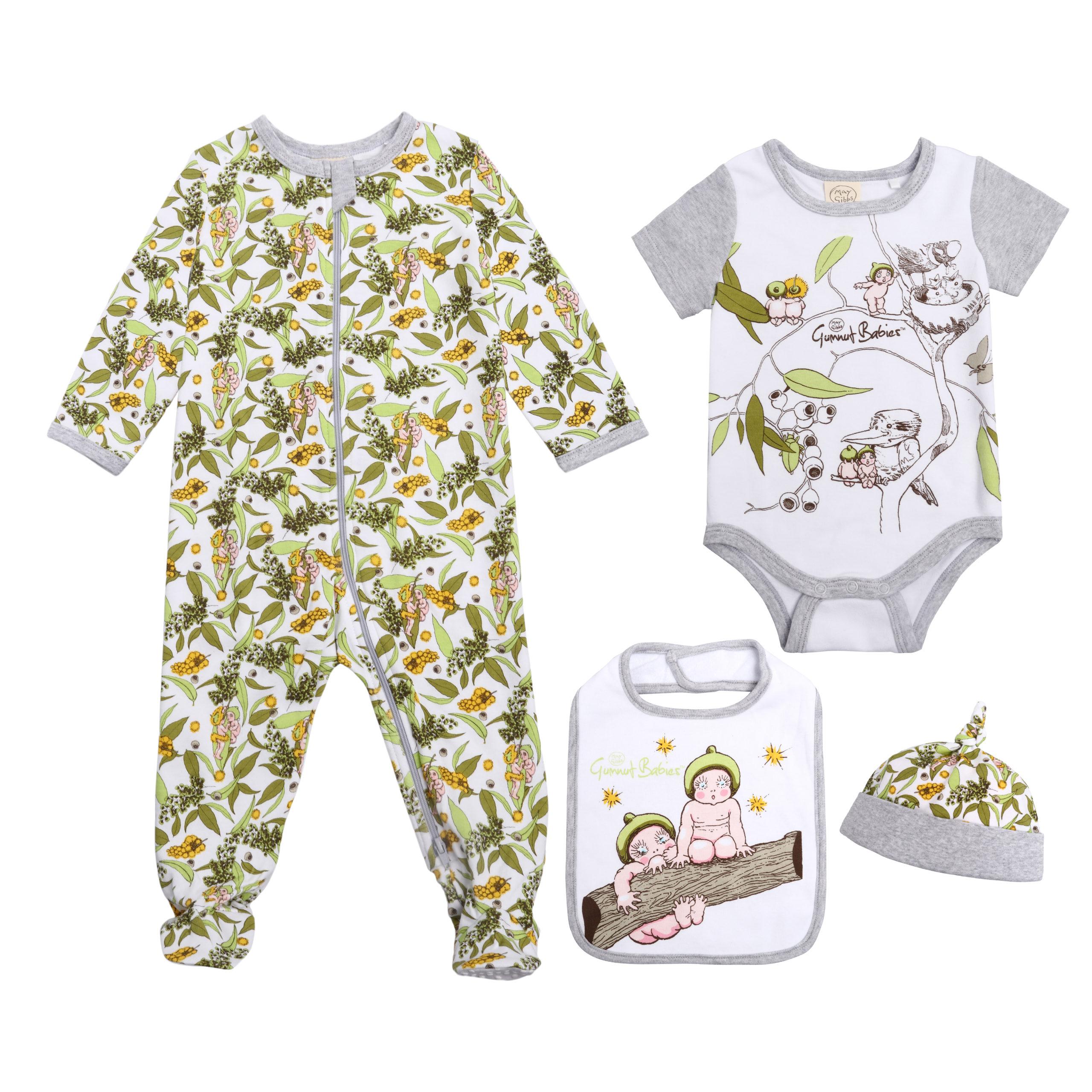 May Gibbs BIG W - Infant 4 Piece Set