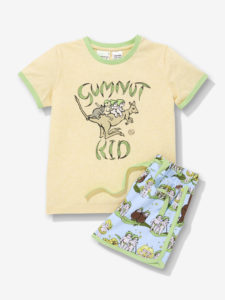 May Gibbs x Peter Alexander Sleepwear - Jnr Kids Gumnut PJ Set