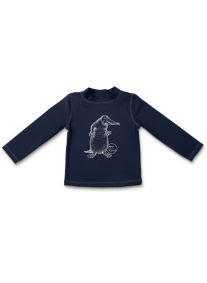 May Gibbs x Walnut Melbourne Long Sleeve Rashi Platypus Navy