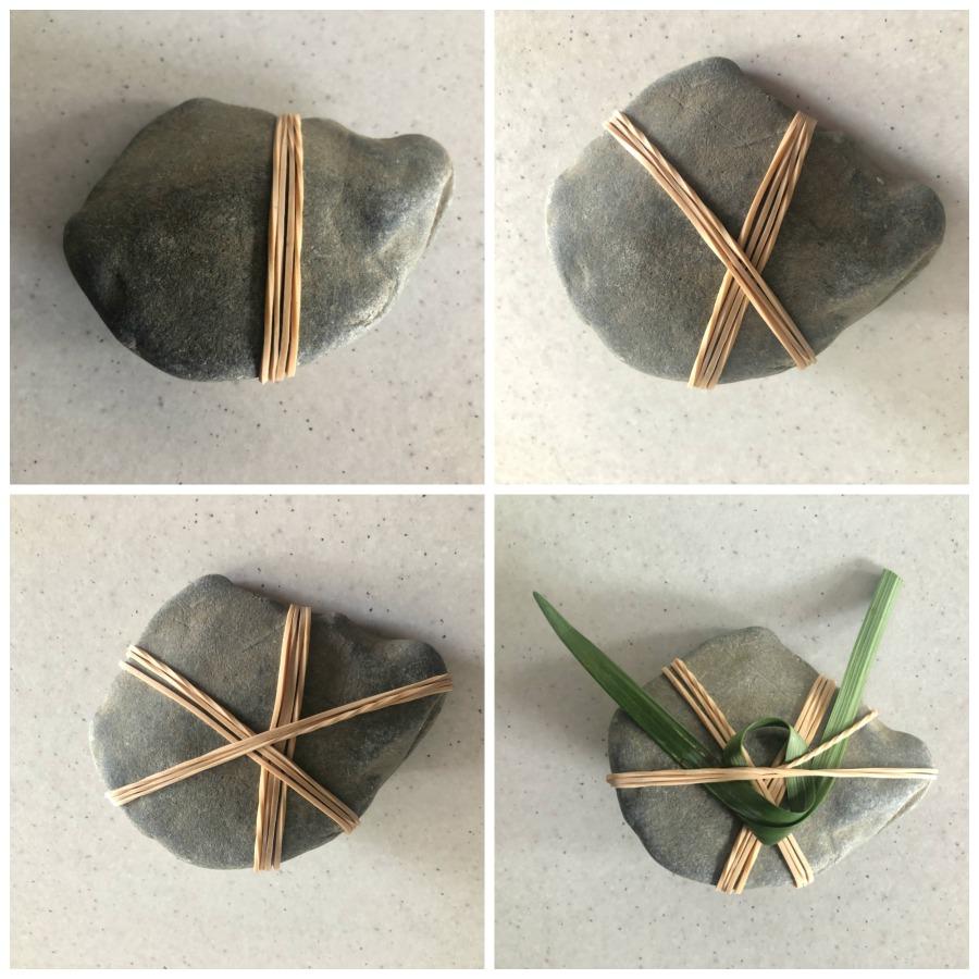 rock weaving