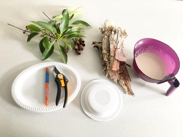 Paperbark Nest for Easter Materials
