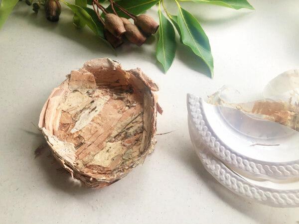 Paperbark Nest for Easter Step 3