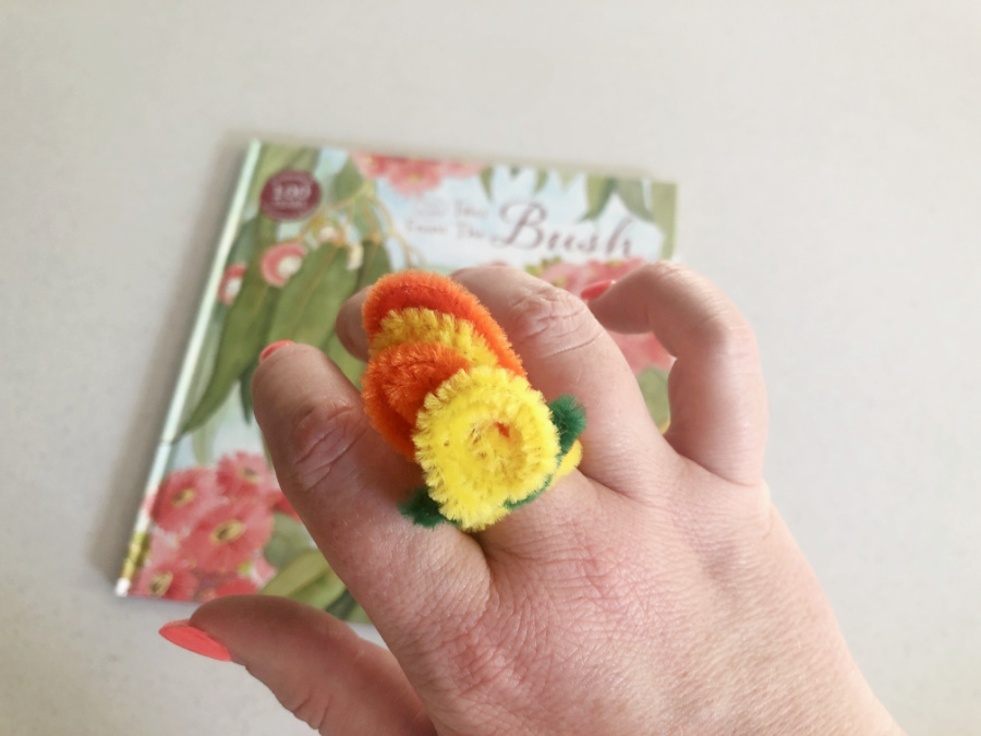 Australian Native Flower Ring Step 6