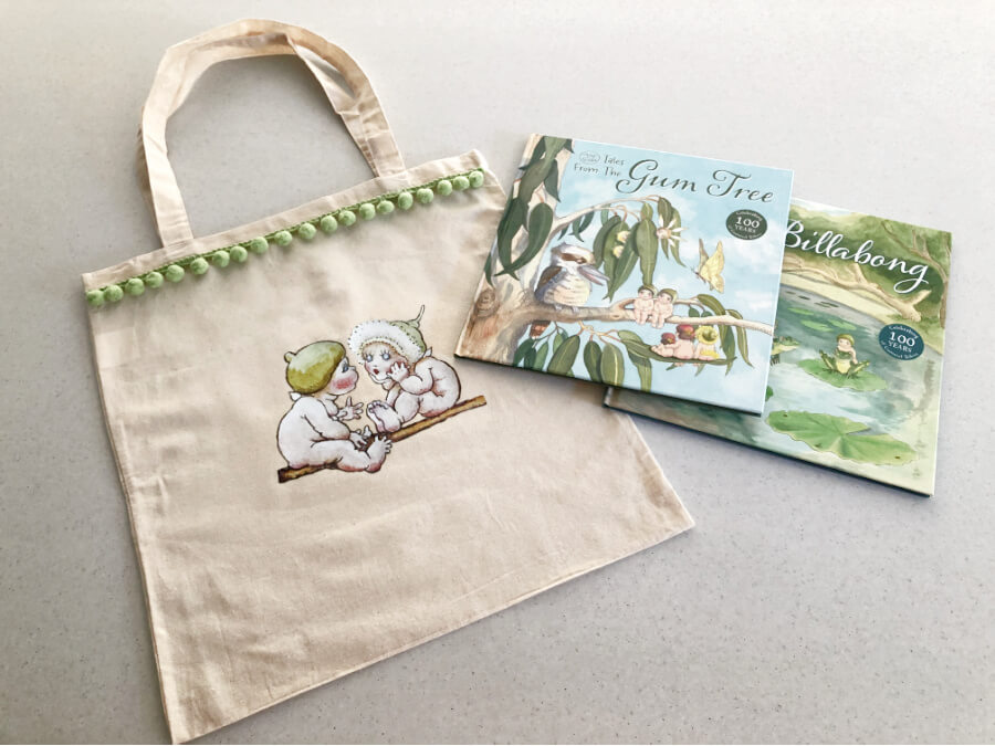 DIY Library Bag Using the New May Gibbs Iron on Transfers from Spotlight