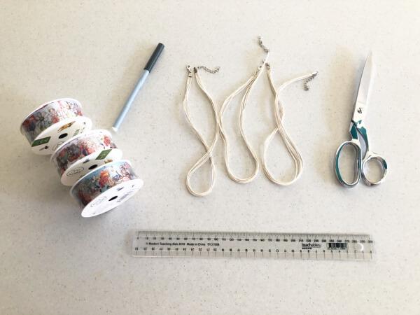 Create a Necklace Using May Gibbs Ribbon