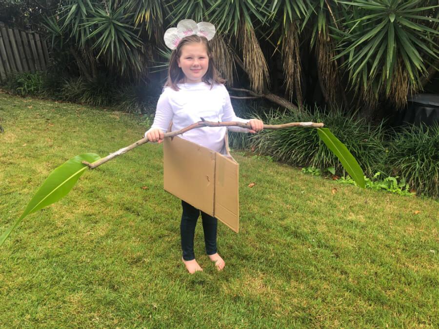 Billabong Canoe Costume for Book Week