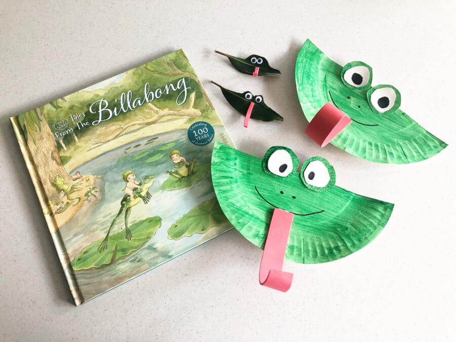 Easy Frog Craft